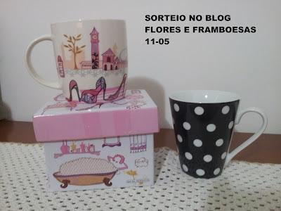 Sorteio no blog Flores e Framboesas