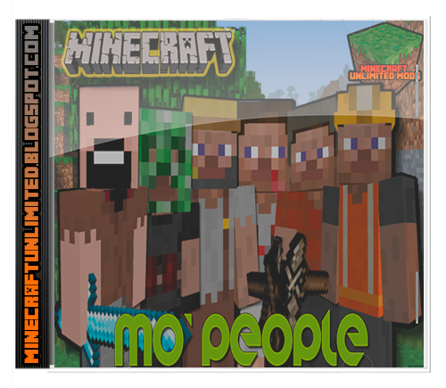 Mo' People Mod minecraft