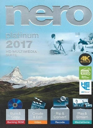 Nero 2017 Platinum 18 Programas Torrent Download capa