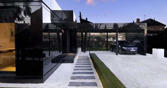 Moderne woning idee n modulair huis exterieur ontwerpen modulair huis deuren exterieur - Modern huis exterieur entree ...