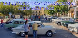 XXI CONCENTRACIÓN NACIONAL CLUB SEAT 1500