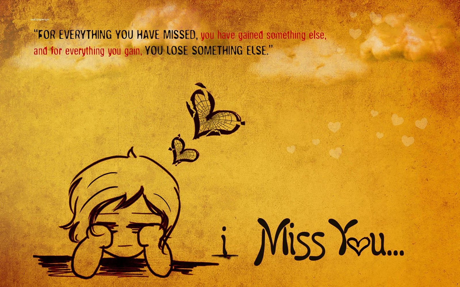Beautiful Quote I Miss You Images HD