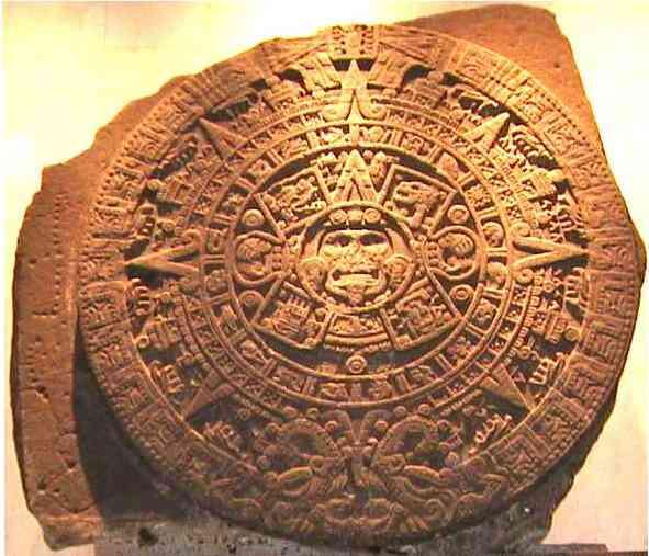 escultura azteca: