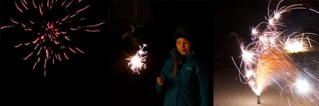Silvester Feuerwerk, Wunderkerze, Kind, Böller