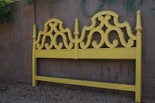 Mustard Headboard