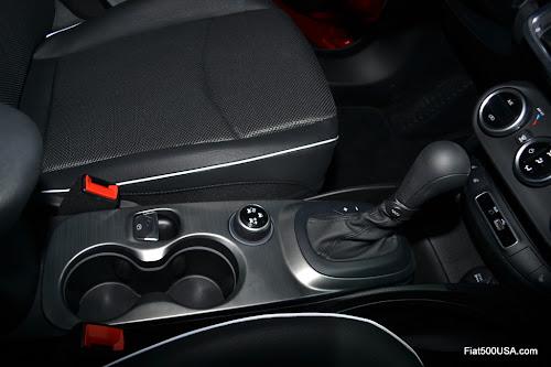Fiat 500X Center Console