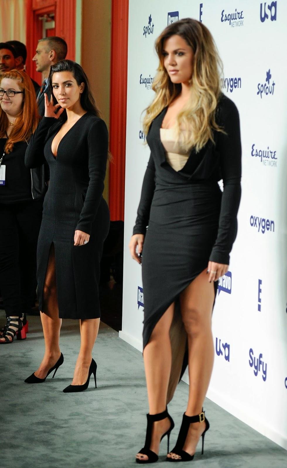 Khloe Kardashian at the 2014 NBCUniversal Upfronts