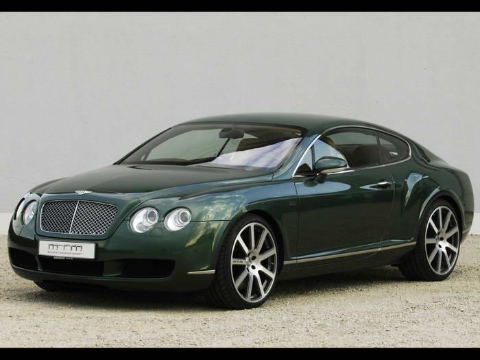 Mtm Bentley Continental Gt Birkin Edition 2006 Automotive Todays