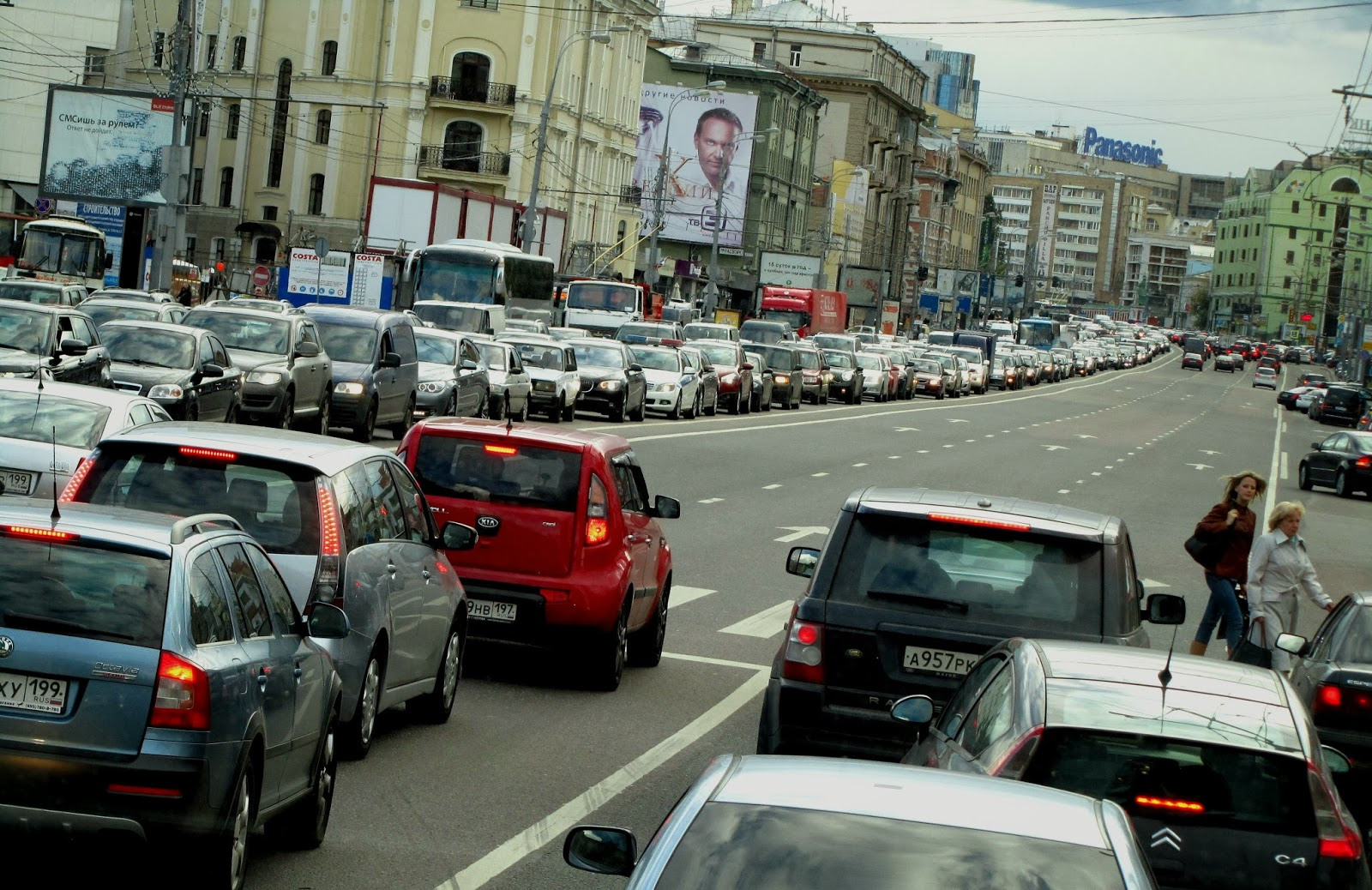 Traffic congestion moscow