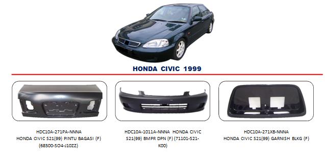 Bemper Honda Civic 1999