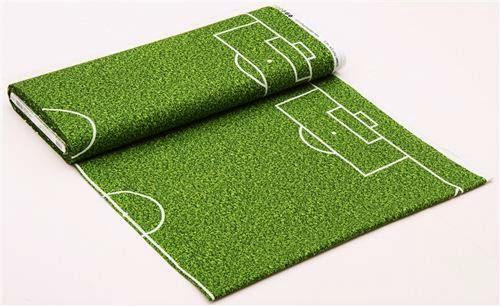 Panel de tela, campo de futbol