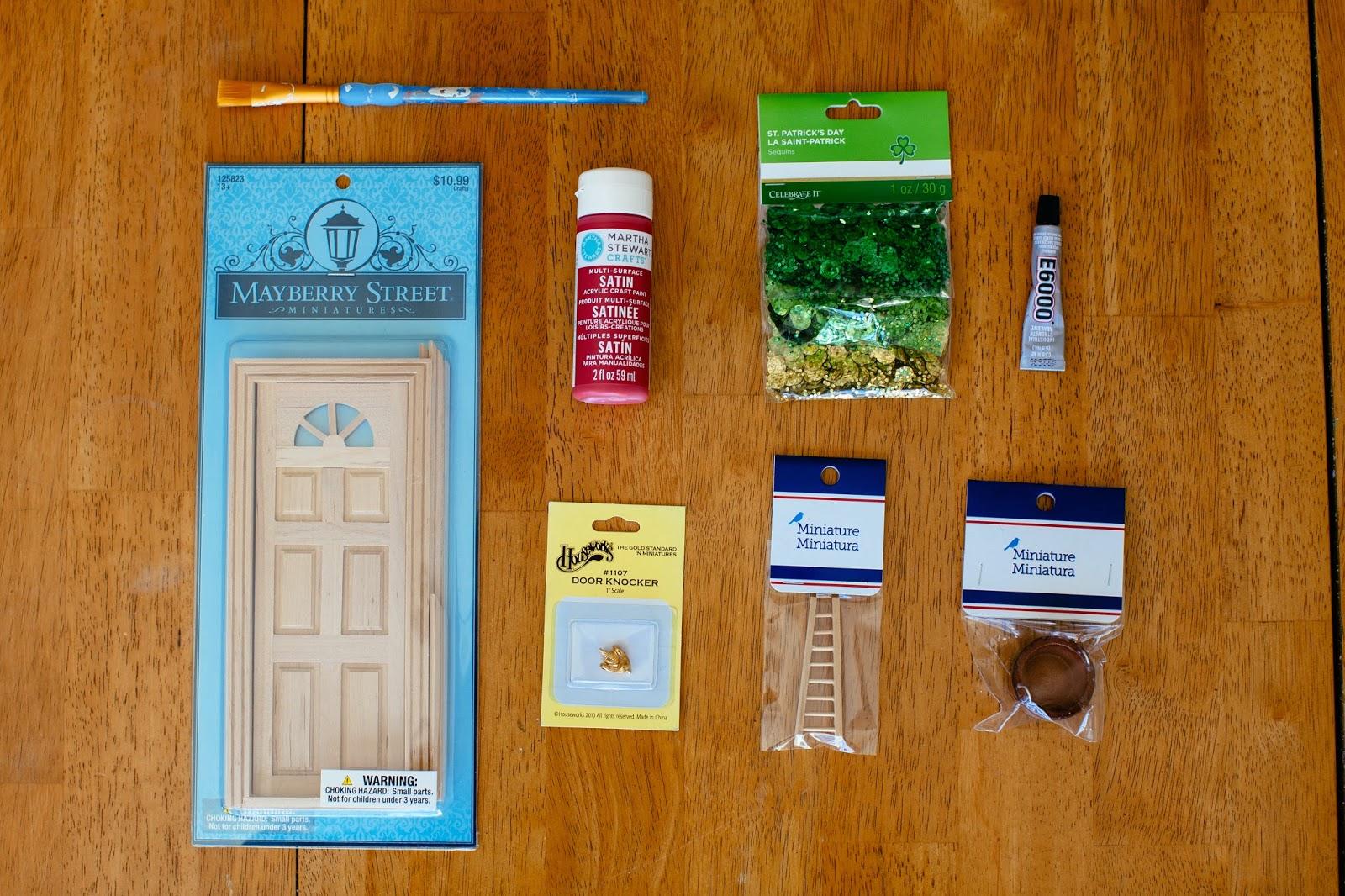 The parker project diy mouse door fairy door for Door accessories