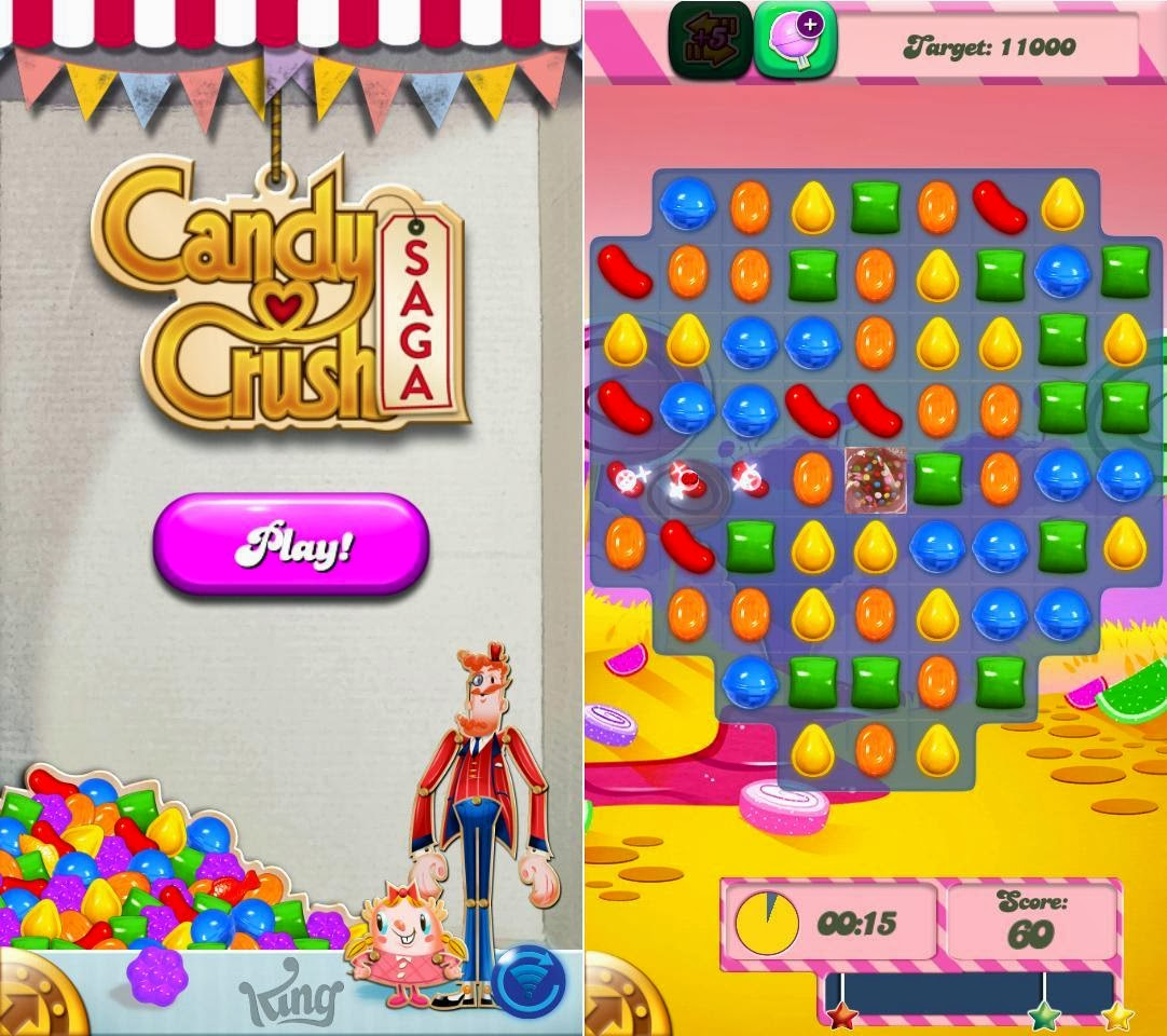 DTC Mobile GT15 Astroid Fiesta Candy Crush Saga