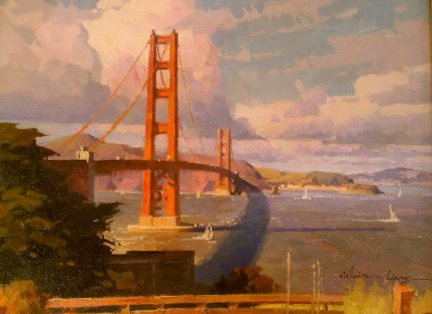 The Golden Gate Bridge by Calvin Liang