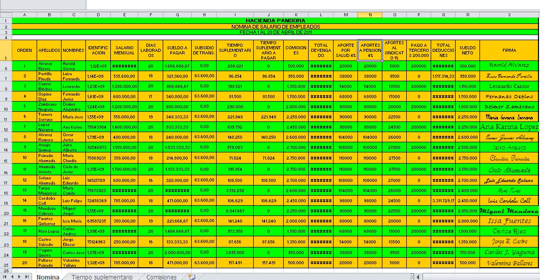 Clases De Informatica Una Utilidad M S De Excel Crear