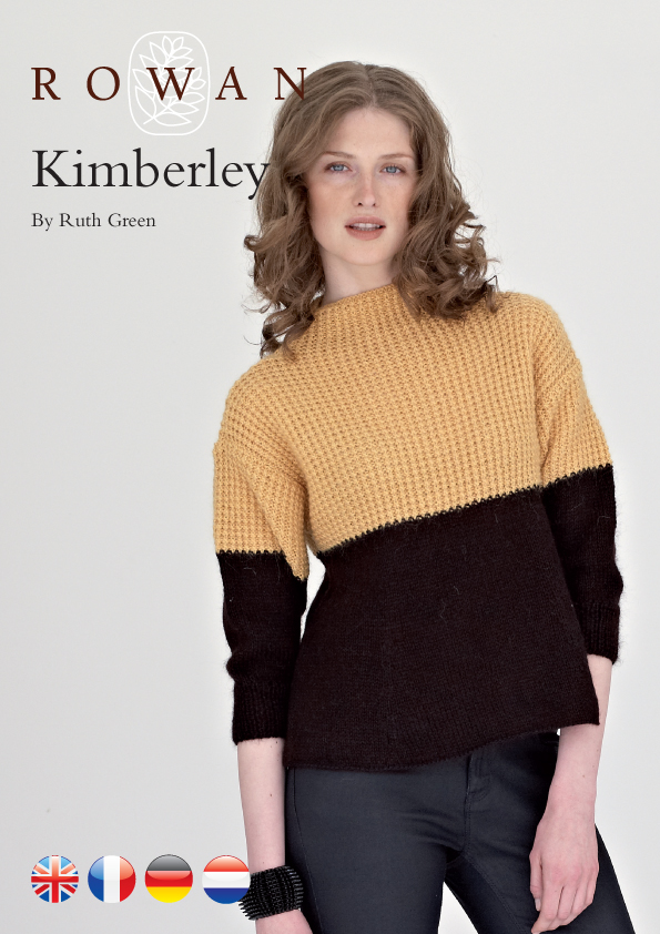 The Vintage Pattern Files 1960s Knitting Kimberly Jumper