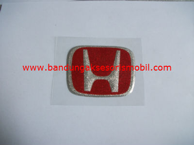 Emblem Metalic Kap Mesin Besar Honda