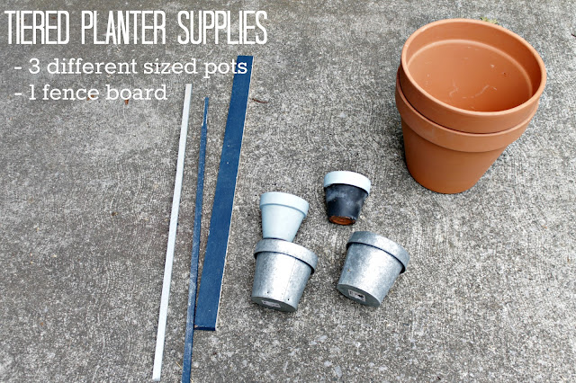 tiered planter supplies