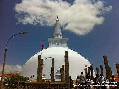 Anuradhapura au Sri Lanka