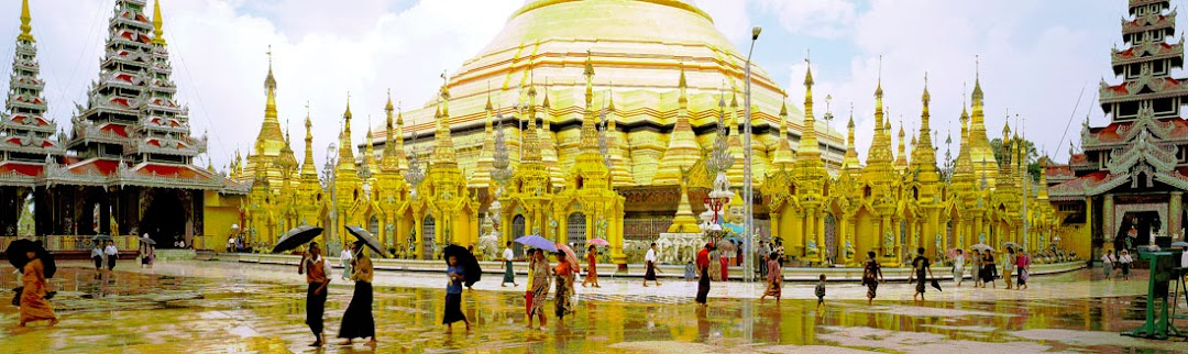 Shwedagon Pagoda (Stupa) in Yangon & Buddhist Novitiation in Myanmar