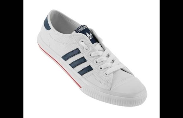 Modelo retrô da marca Adidas, o Low Lea (Foto: Reprodução)