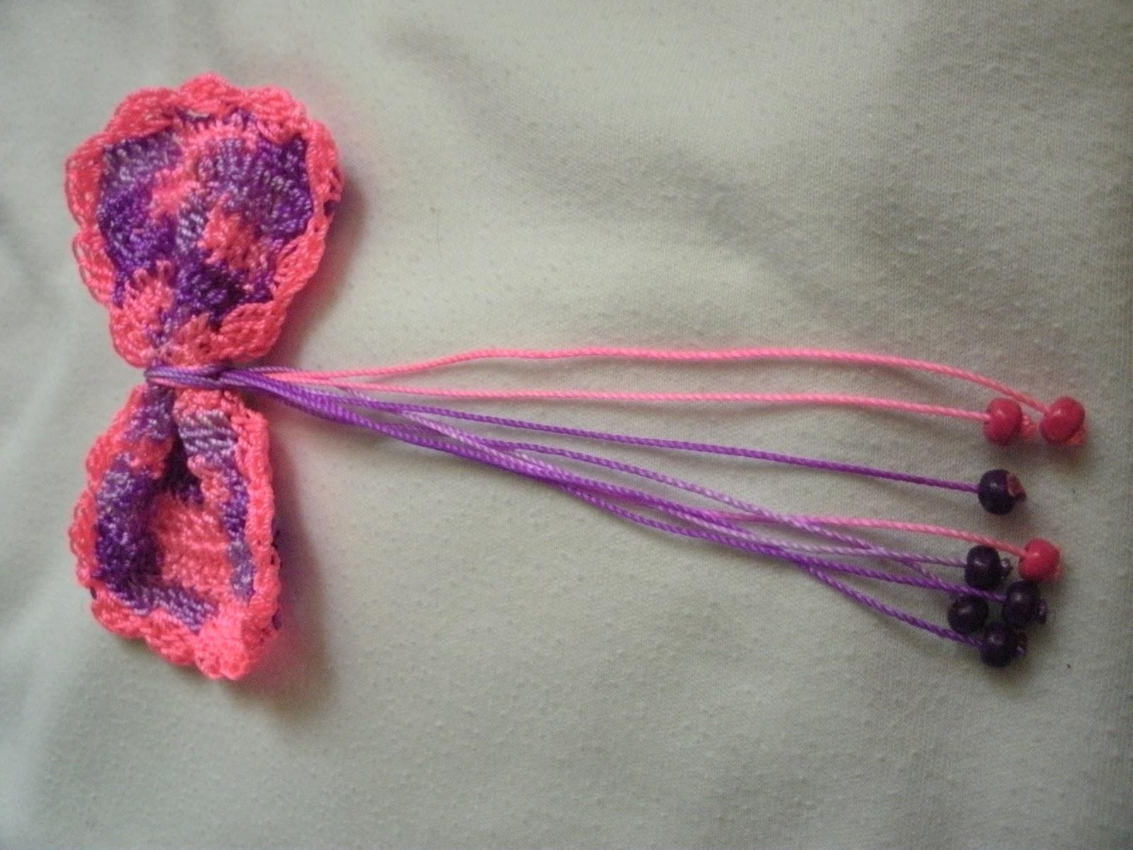 Accesorios para el cabello tejidos a crochet