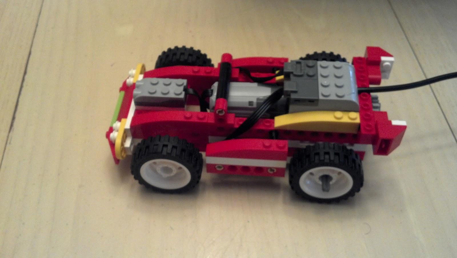 Learning In Fair Haven Lego Wedo Robotics Car