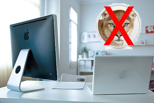 Apple Mac Who Can't Run OS X Mountain Lion