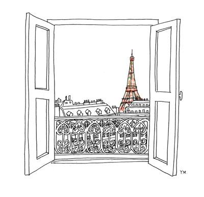 Eiffel Tour by Yukié Matsushita