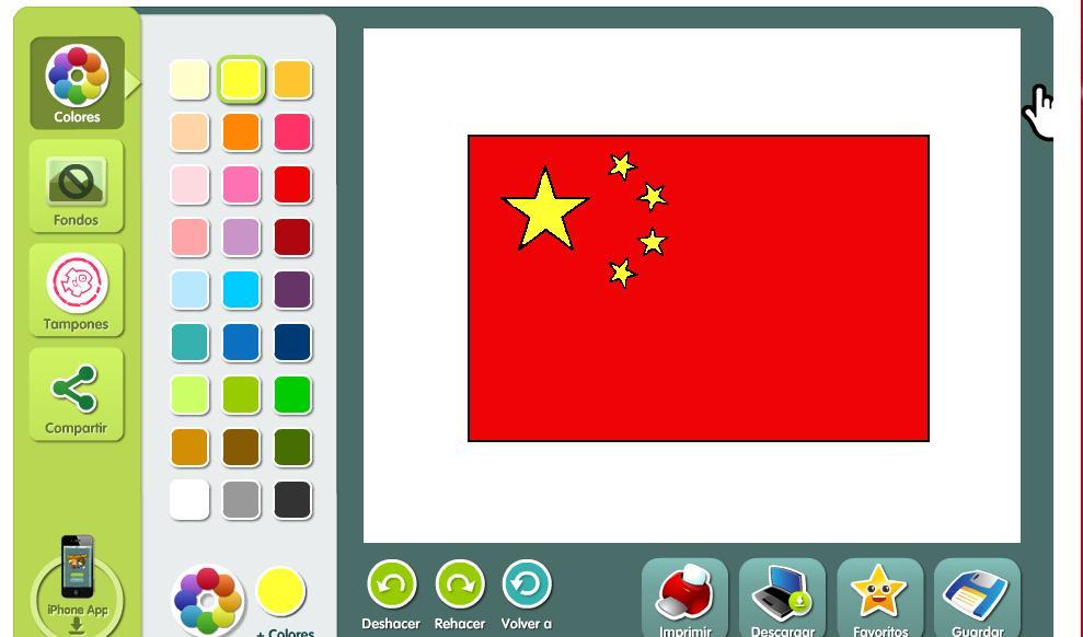 RECURSOS DE EDUCACIN INFANTIL BANDERA CHINA
