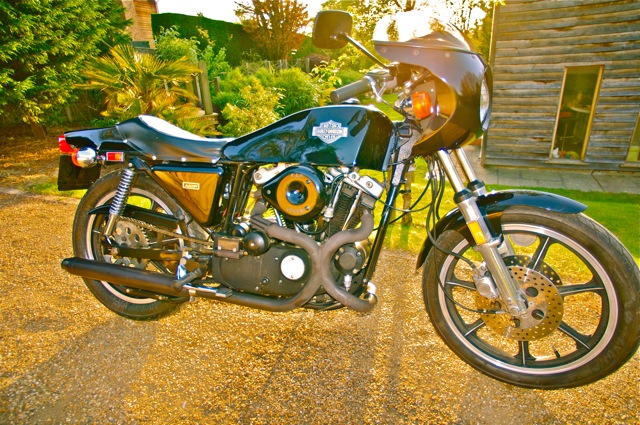7Ages Custom Motorcycles  Harley Davidson XLCR 1000