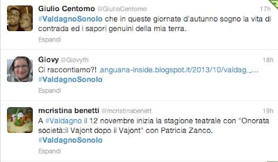 Twitter #ValdagnoSonoIo