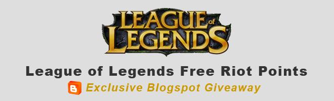 Free Riot Points - League of Legends Free 10$, 20$ Riot ...