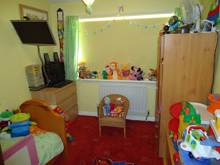 Big Boys bedroom when he was a Toddler