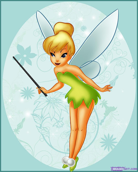 Disney Tinkerbell Cartoon Characters