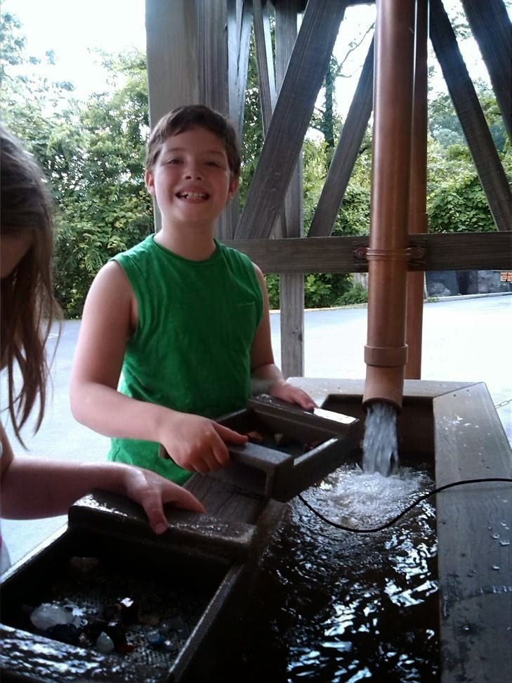 How to take your kids rock mining or panning for gold without breaking the bank.