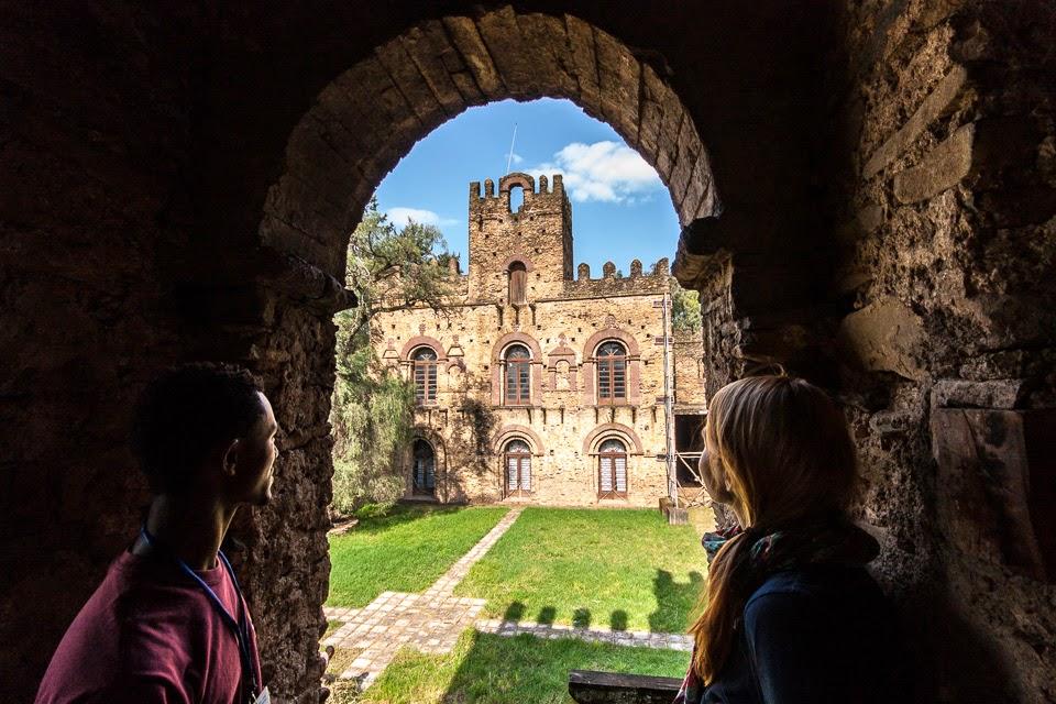 a Bazilidész-vár Gonderben