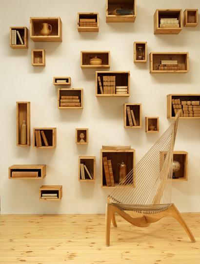 Estanterias para los libros de hoy lascafe for Estanterias para libros