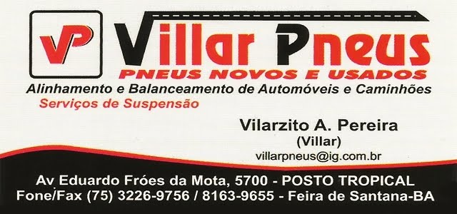 VILLAR PNEUS