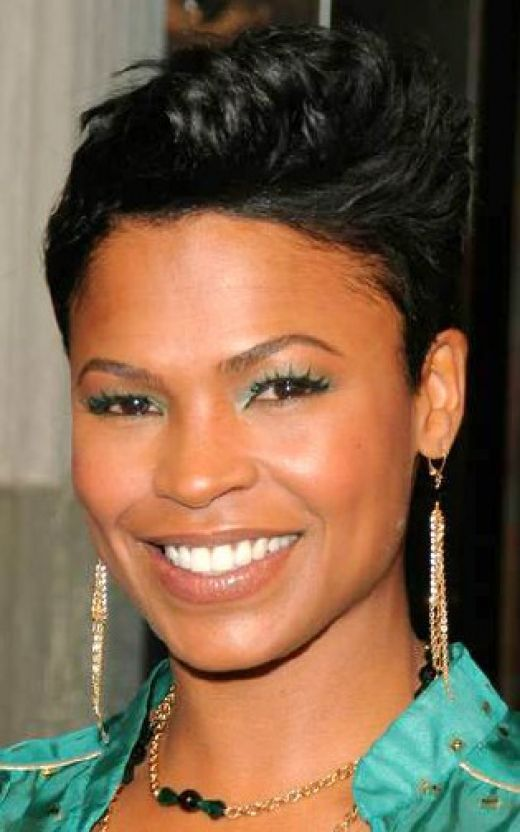 Long Short Hairstyles Black Women