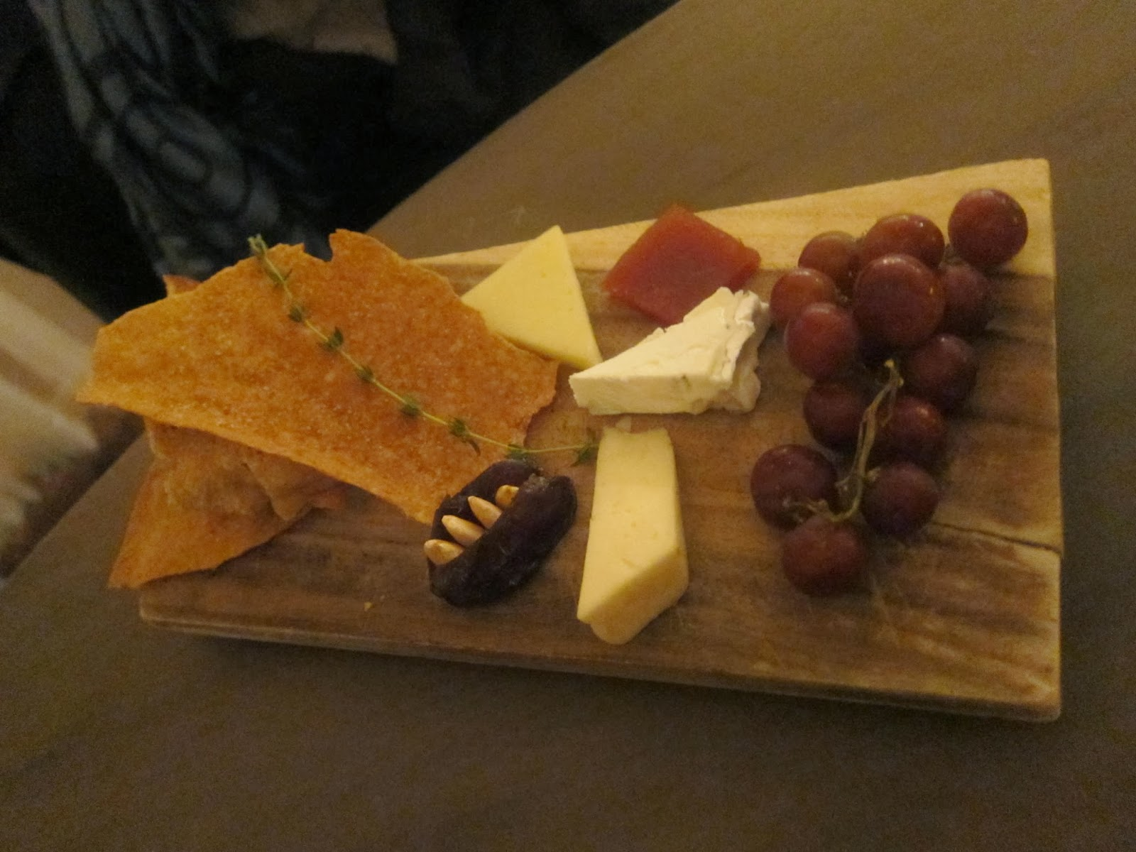 Cheese plate from Rialto Restaurant | The Economical Eater