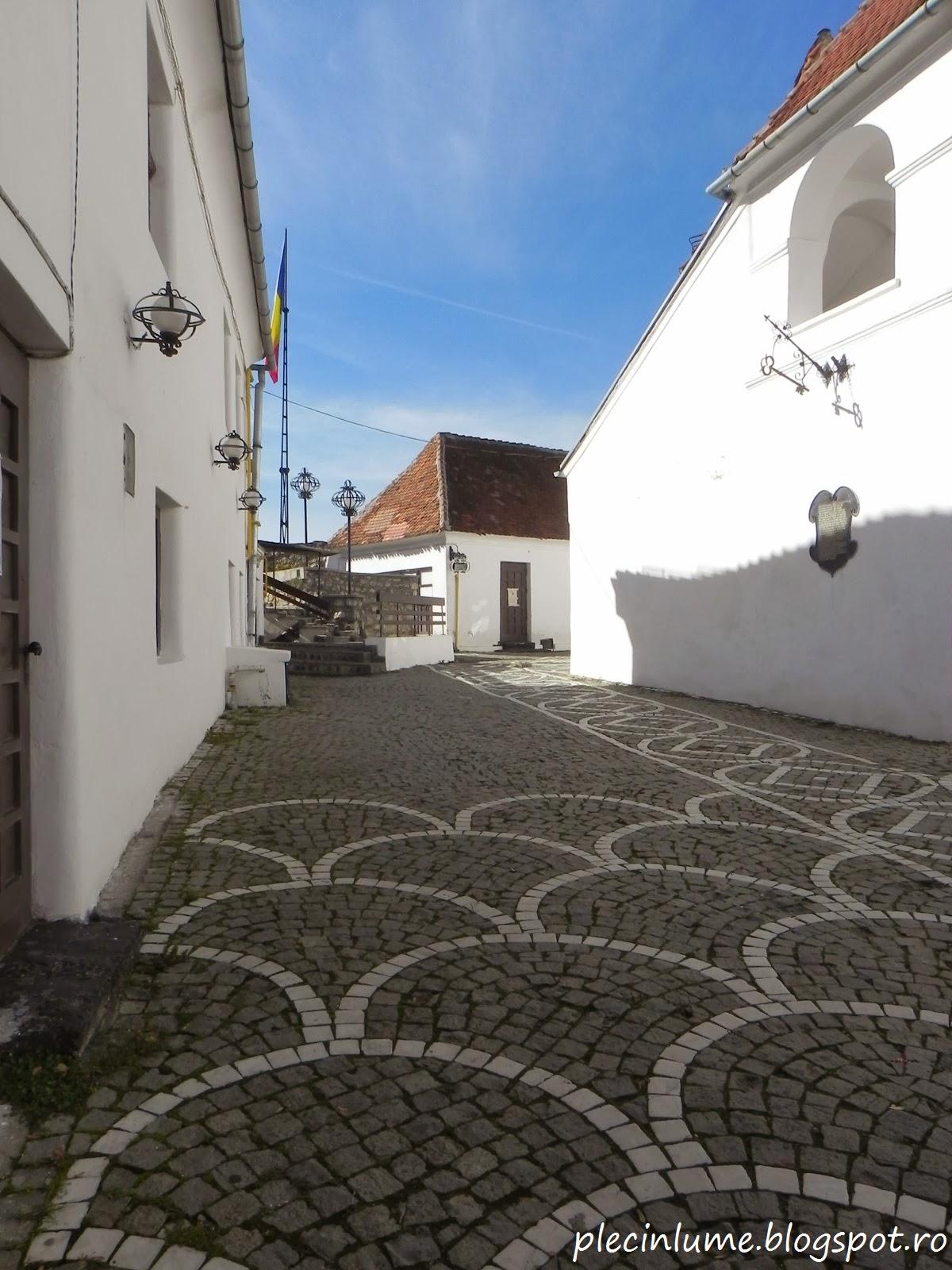 In Cetatea Brasovului