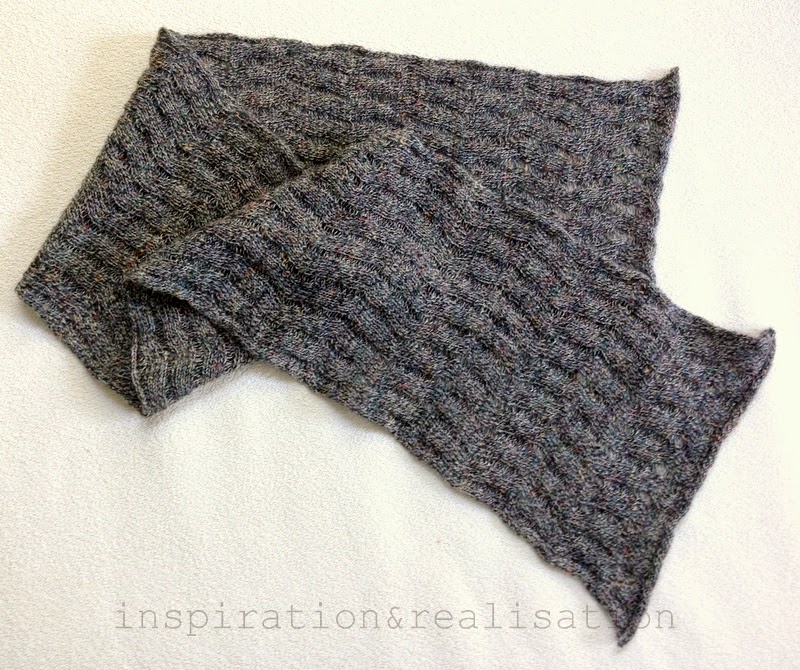 Knitting Machine Scarf Pattern : inspiration and realisation: DIY fashion blog: DIY - machine knitting: fancy ...