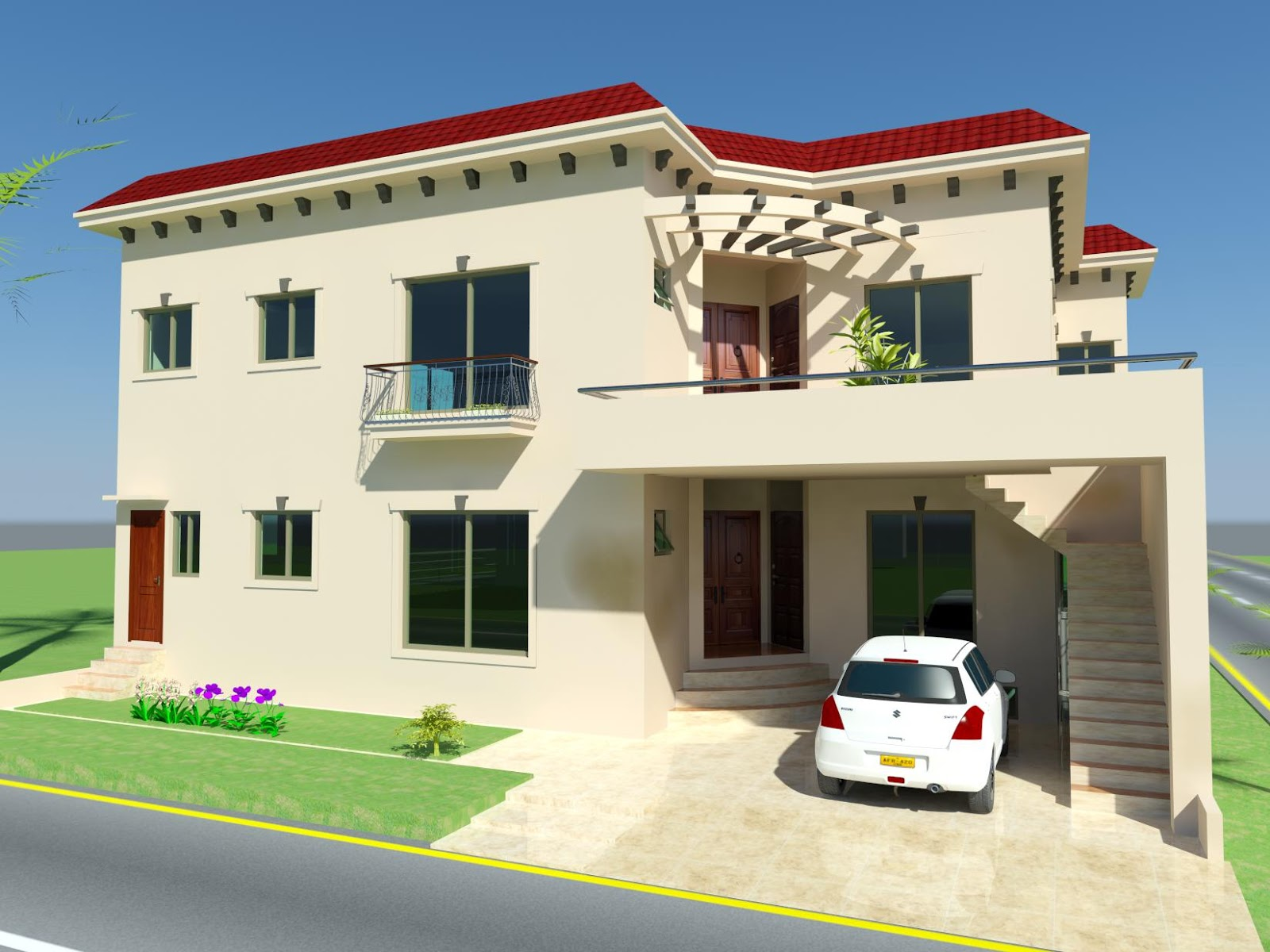 3d house designs in pakistan home design and style for House designs in pakistan
