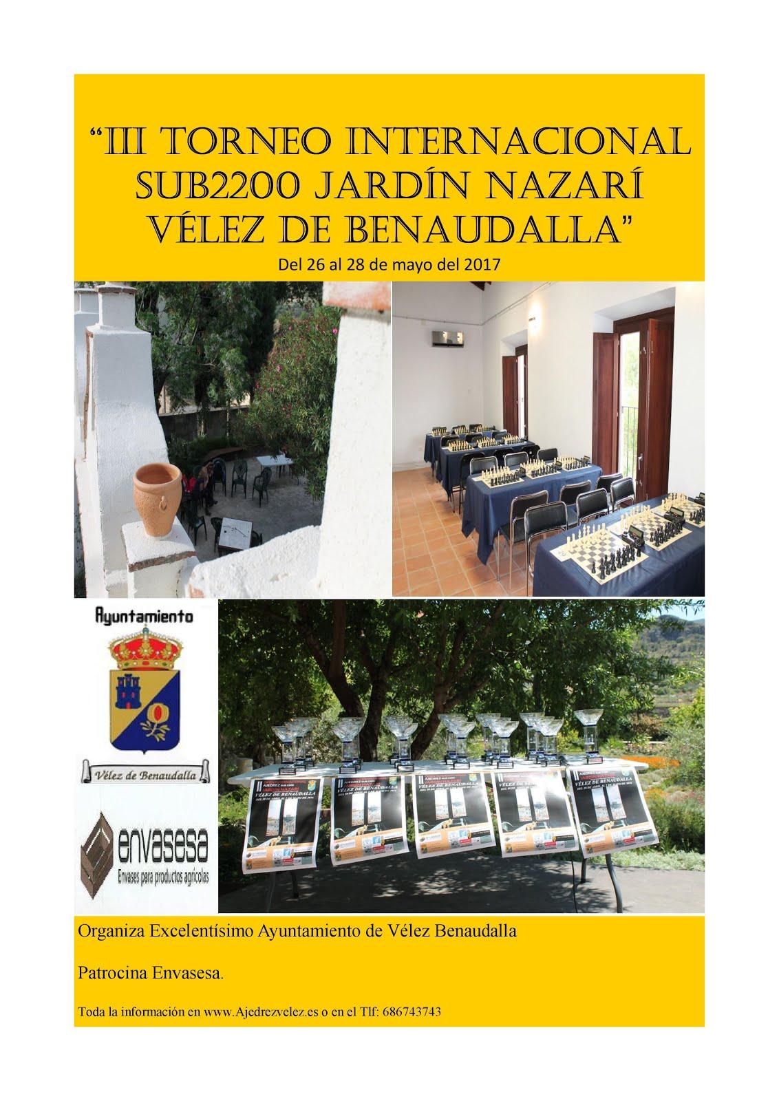 III Open Internacional Sub2200 Jardín Nazarí Vélez de Benaudalla