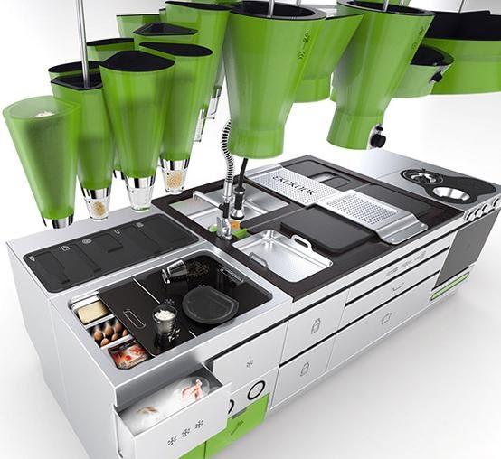 futuristic kitchen design 2012 futuristic kitchens slick and futuristic kitchen design completehome