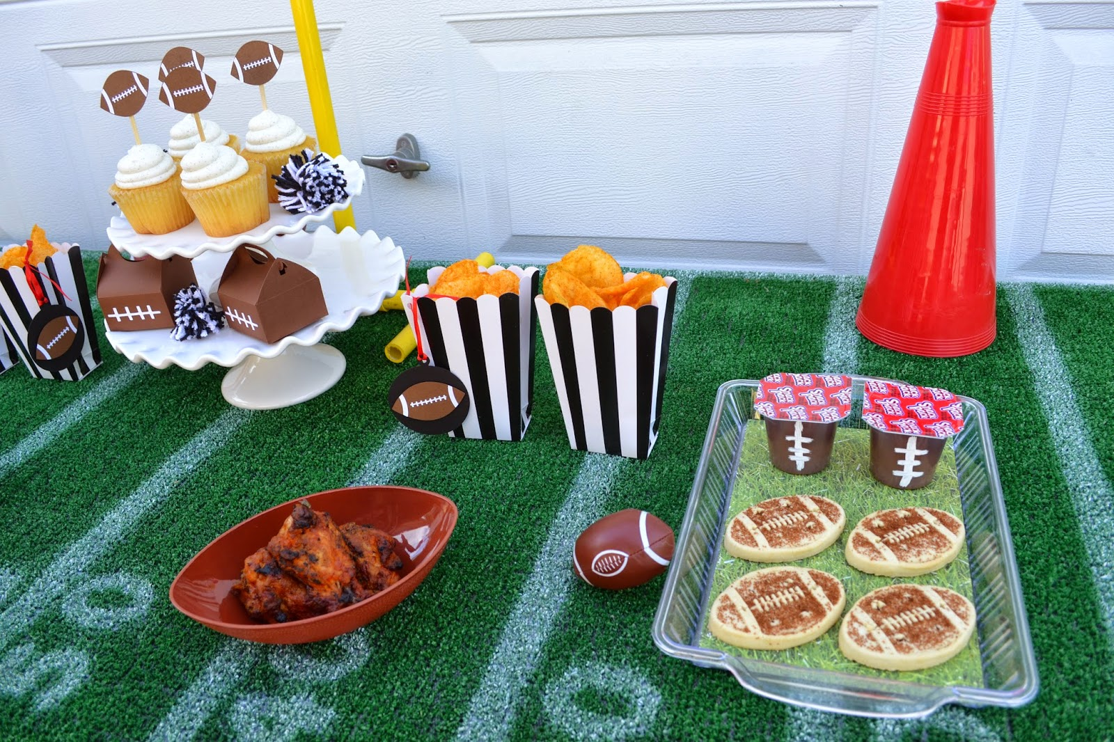 Creativities Galore:: Football Party