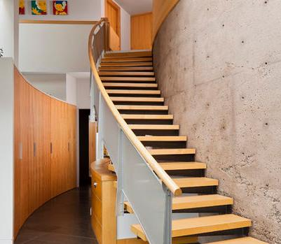 escaleras de hormign un escalera hormigo son de construccin en obra son complejas para prefabricar las escalas