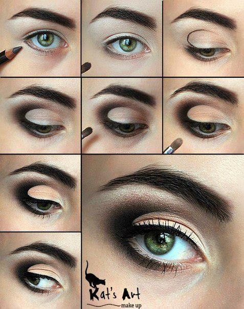 Как правильно красиво сделать макияж