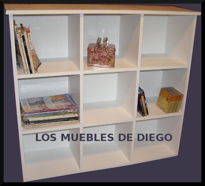 Mueble organizador 9 cubos los muebles de diego for Mueble organizador